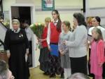 поздравление Нелли Георгиевны детьми воскресной школы при храме св. Стефана Пермского