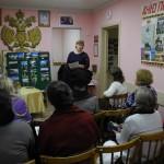DSCN1937 - доклад Марии о поломничестве на Соловки