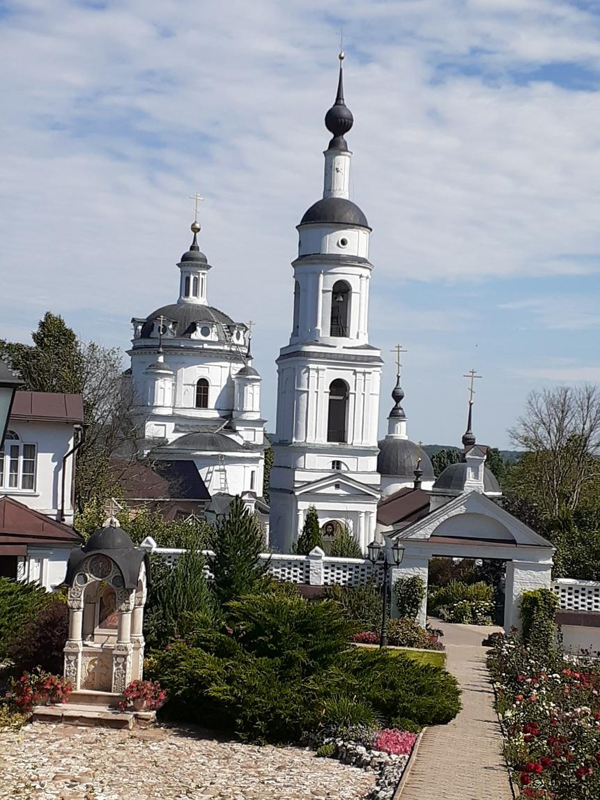 Свято-Никольский Черноостровский женский монастырь, город Малоярославец